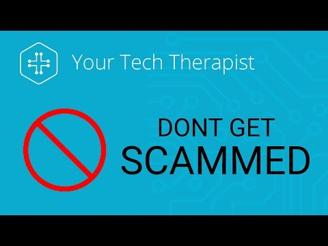 5 Tips To Avoid Tech Support and Account Scams