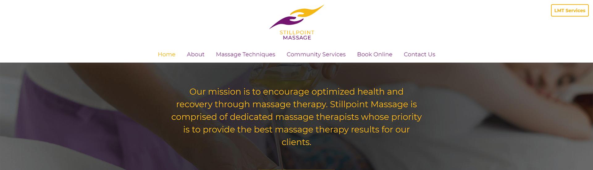 Stillpoint Massage 1