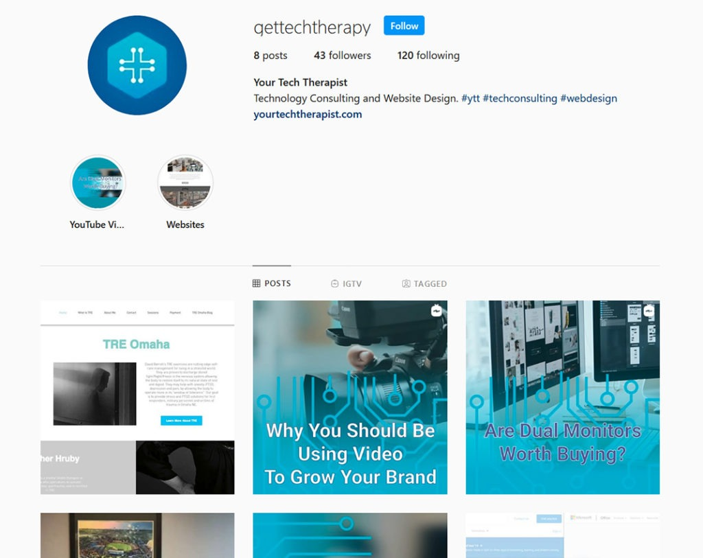 It's Time To Improve Your Website and Social Media - Instagram