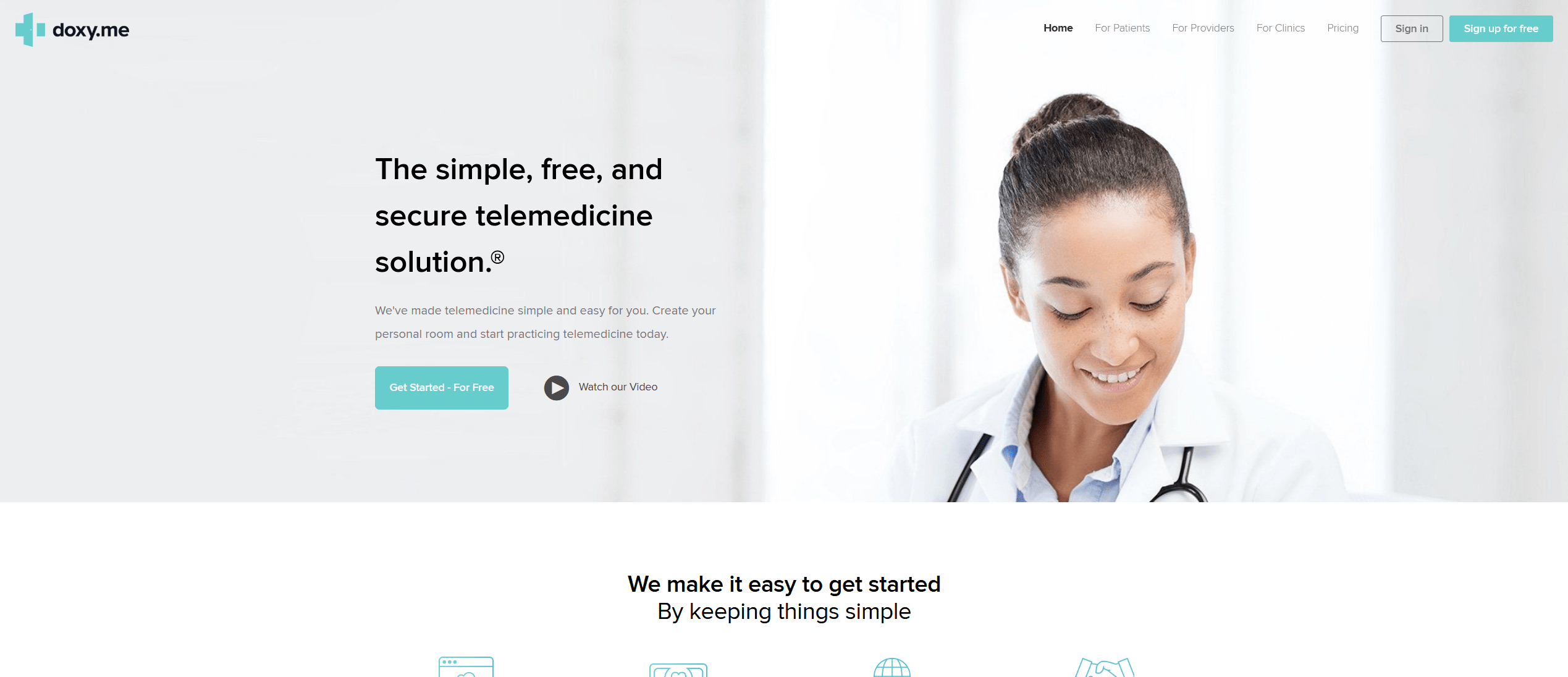 Free Telemedicine Software That's HIPAA Compliant - Doxy.me