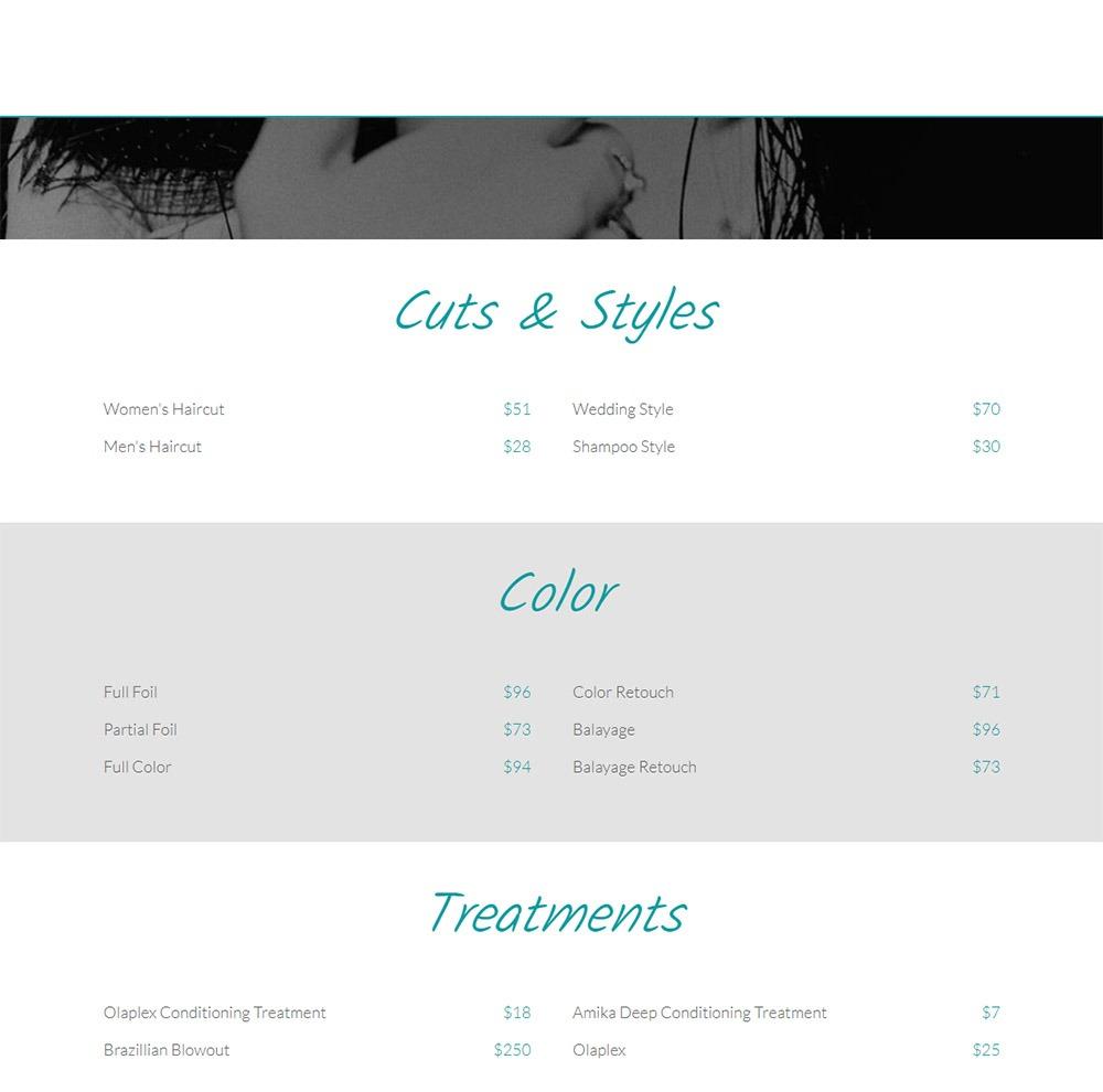 Web Design Consistency - Example #2